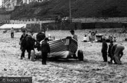 Marske-By-The-Sea, A Boat On The Beach c.1955