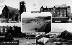 Marske-By-The-Sea, Composite c.1960