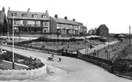 Marske-by-the-Sea, Entrance to Valley Gardens 1938