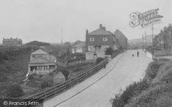 Marske-By-The-Sea, High Street, Seaward End 1934