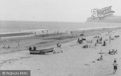 Marske-By-The-Sea, On The Beach c.1955