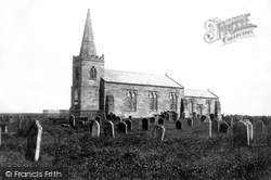 Marske-By-The-Sea, St Germain's Church c.1885