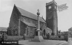 Marske-By-The-Sea, St Mark's Church And War Memorial 1923