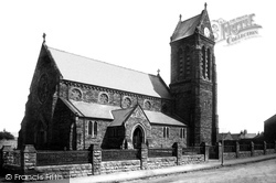 Marske-By-The-Sea, St Mark's Church c.1885