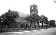 Marske-by-the-Sea, St Mark's Church c1955