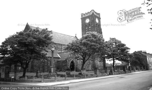 Photo of Marske-by-the-Sea, St Mark's Church c1955