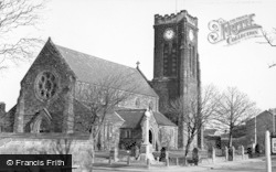 Marske-By-The-Sea, St Mark's Church c.1960