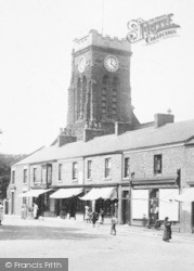 Marske-By-The-Sea, St Mark's Church From Redcar Road 1906