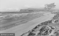 Marske-By-The-Sea, The Beach 1934