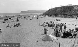 Marske-By-The-Sea, The Beach Looking South c.1955