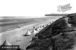 Marske-By-The-Sea, The Sands 1906