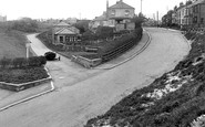 Marske-by-the-Sea, Valley Gardens and High Street c1955