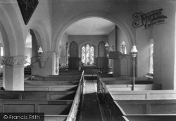 Marske, Church Interior 1913