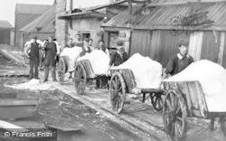 Marston, Handcarts Full Of Salt, The Lion Salt Works c.1900