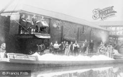 Marston, Narrowboats, The Lion Salt Works c.1900