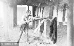 Marston, Stoking The Furnace, Lion Salt Works c.1900