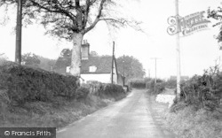 Bealings Road c.1955, Martlesham