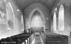 Church Interior c.1955, Martlesham