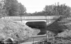 The Bridge c.1955, Martlesham