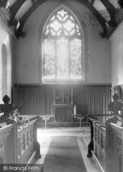The Church, Chancel c.1955, Martlesham