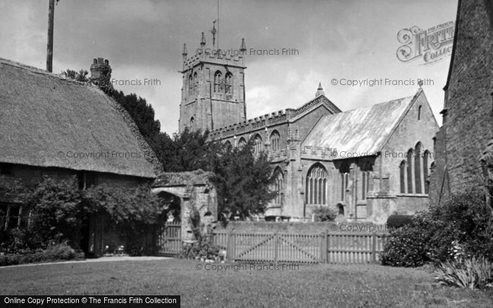 Photo of Martock, All Saints Church c.1950