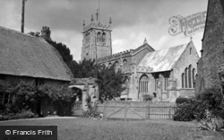 Martock, All Saints Church c.1950