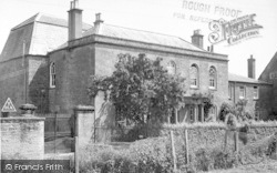 Martock, Hurst Manor Youth Hostel c.1955