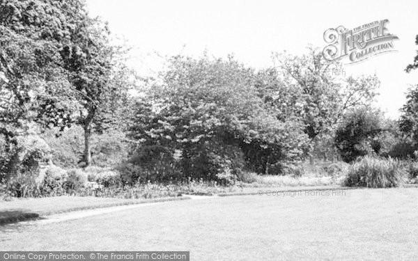 Photo of Martock, Hurst Manor Youth Hostel, The Garden c.1955