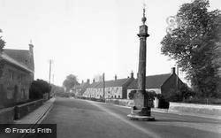 Martock, The Pinnacle And Church Street c.1955