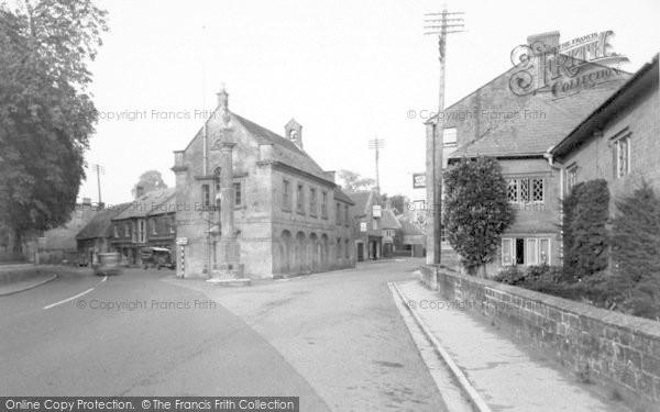 Photo of Martock, The Pinnacle And Market House c.1955