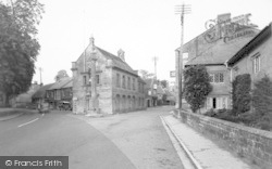 Martock, The Pinnacle And Market House c.1955