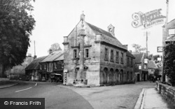 Martock, The Pinnacle And Market Street c.1955