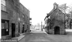 Martock, The Post Office And Market House c.1960