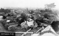 Martock, View From All Saints Church Tower c.1960
