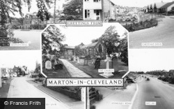 Marton-In-Cleveland, Composite c.1965, Marton