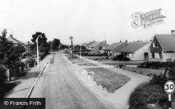 Marton-In-Cleveland, Gypsy Lane c.1965, Marton