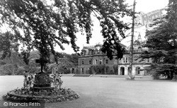 Marton-In-Cleveland, Marton Hall, The Cook Memorial, Stewart Park c.1955