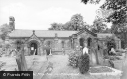 Marton-In-Cleveland, St Cuthbert's Church c.1955