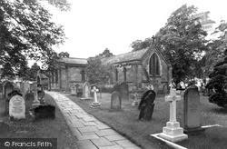 Marton-In-Cleveland, St Cuthbert's Church c.1955, Marton