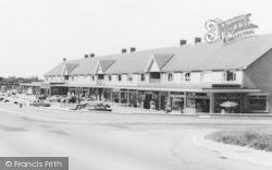 Marton-In-Cleveland, Stokesley Road Shopping Parade c.1965