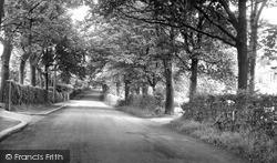 Marton-In-Cleveland, The Grove c.1955, Marton