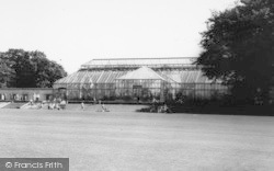 Marton-In-Cleveland, The Park, Greenhouse c.1965