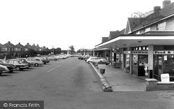 Marton-In-Cleveland, The Shopping Centre c.1965