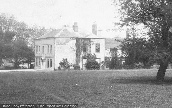 Photo of Marton, The Hall c.1885