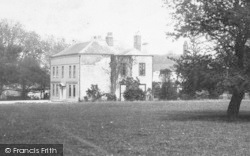 The Hall c.1885, Marton