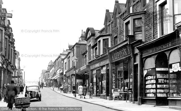 Maryport, Senhouse Street c1955.  (Neg. M262015)  � Copyright The Francis Frith Collection 2008. http://www.francisfrith.com