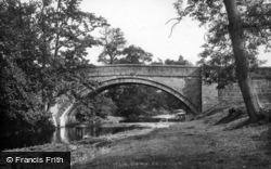 Masham, Burn Bridge 1908