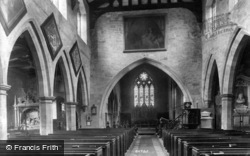 Masham, Church Interior 1908
