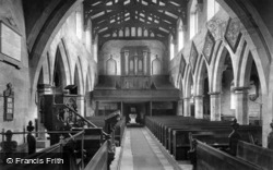 Church Interior 1908, Masham