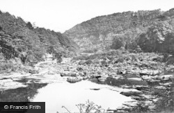 Masham, Hackfall, On The River Ure c.1874